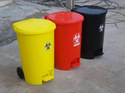 Foot Pedal Dustbin 55L
