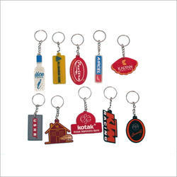Options Available Silicone Key Chains