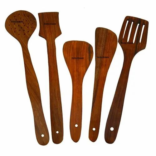 Handmade Wooden Serving And Cooking Spoon Kitchen