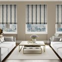 100% Polyester Fabric Roman Blinds