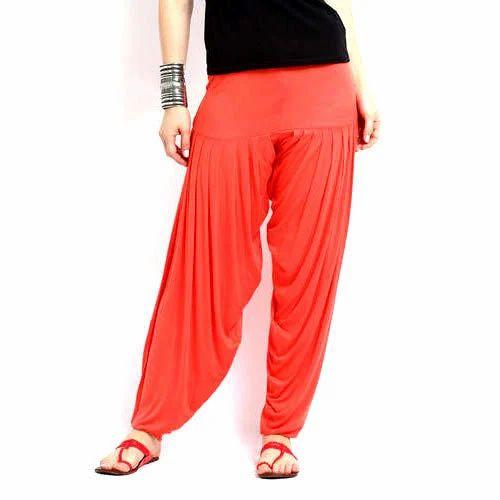 Plain Normal Ladies Plain Patiala Salwar 09881a853