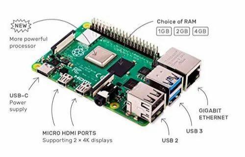 Raspberry Pi 4, 1gb Ram, Your Tiny, Dual Display, Desktop Computer Launch