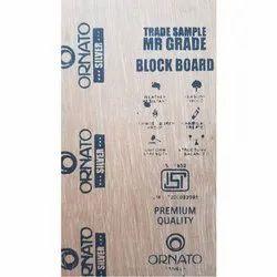 Ornato Silver MR Grade Block Board, Size: 6' x 4', Thickness: 12 mm