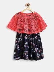 Bella Moda Kids Casual Dress, Age: 2-12y