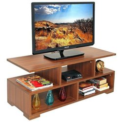 Brown Modern Decorative TV Unit