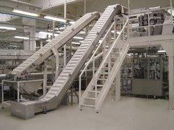 Food Handling Conveyor System, Capacity:  1 to 50, 50 to 100, 100 to 150, 150 to 200 and 200 to 300 kg per feet