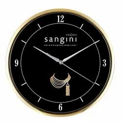 White Glass Antique Wall Clock, Packaging Type: Box