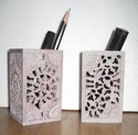 Pen Pencil Holder Soapstone Item