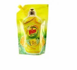 Vim Dish Wash Liquid, Packaging Type: Pouches, 115 Ml