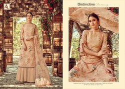 Georgette Unstitched Dhavani Incredible Suit