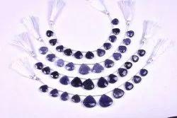 Iolite Semi Precious Beads