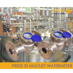 Stainless Steel Multi jet Water Meter