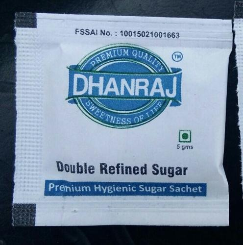 White Refined Sugar Sachet