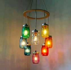 Brijrani Glass Jar Lights
