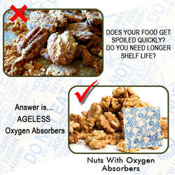 Oxygen Absorbers for Dry fruits