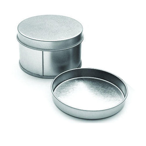 Round Storage Tin Box