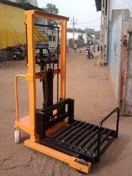Roller Platform Hydraulic Stacker