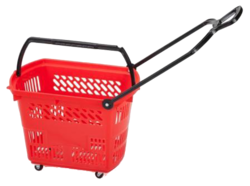 Shopping Trolley - Basket Type with 25KG Capacity