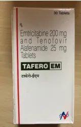 Tafero EM (Emtricitabine 200 mg Tenofovir Alafenamide 25mg)
