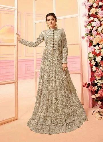 46d4ed0a9b Georgette Wedding Wear Semi-Stitched Salwar Suit, Rs 3200 /piece ...