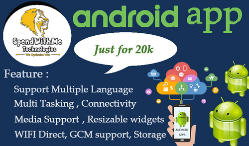 Android Application Development Services in Srinivasa Perumal Kovil