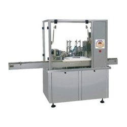 Automatic Filling Inserting and Capping Machine