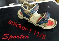 Sporter Canvas Kids Multi Baby Boys Fashion Sandals, Size: 1 to 3