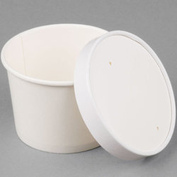 250 ml Paper Tub with Lid