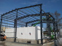 Pre Engineered Building Erection