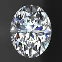 Oval Cut AAA  Quality Excellent Cut Lab Grown Diamond
