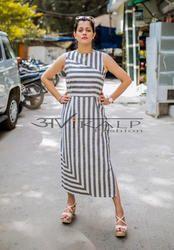 strips Avikalp Fashion Cotton Dress supplier, 13 to 60