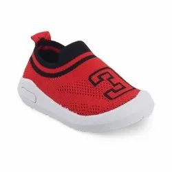 KTB569 RED Kids Slip On Shoes