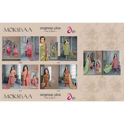 Angroop Mokshaa Designer Cotton Suit