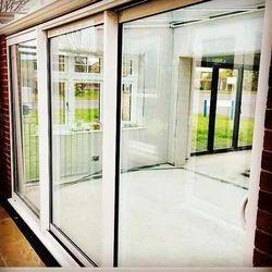 Sliding Toughened Glass Door