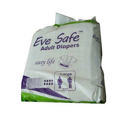 Briefs Eve Safe Adult Diapers, Packaging Type: Packet