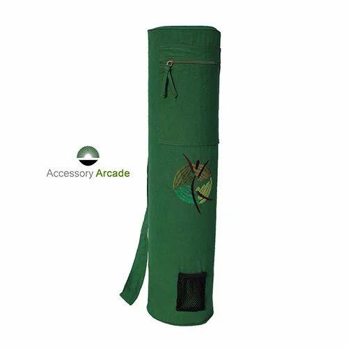 55732b277d6 Exporter of Yoga Mat Bag- Embroidered   Yoga Mat Bag- Batik Print by  Accessory Arcade
