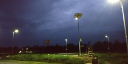 Solar LED Street Light System