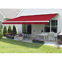 Motorized Retractable Patio Outdoor Awning