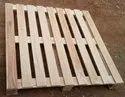 Rectangular Rubber Wood Pallet