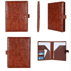 Brown Leather Folder