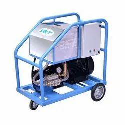 High Pressure Cold Water Jet Machine
