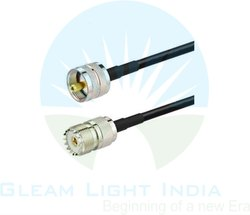 RF Cable Assemblies UHF Female to VHF Female in LMR200