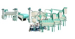 Automatic Industrial Flour Mill