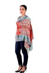 Cashmere Digital Printed Shawl