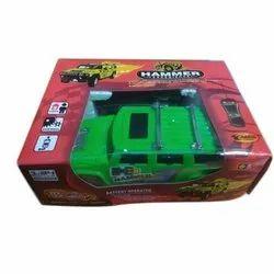 Green Plastic Kids Hammer Radio Remote Control Car Luna Toys for Personal
