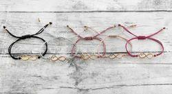 Infinity Shape Modern Trendy Cool Intensive Thread Bracelet