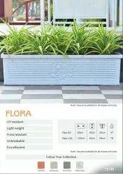 Flora Rectangular Planters Pot