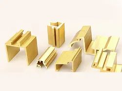 Brass Extrusion Sections
