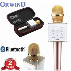 Wireless Karaoke Mic Bluetooth Inbuilt Speaker Orwind