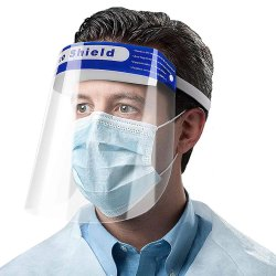 Face shield Anti-fog Disposable